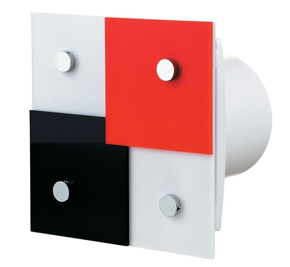 Design-ABlauftventilator mit Nachlauf-Timer im extravaganten Design     | Economy  | Trendy  | Sale