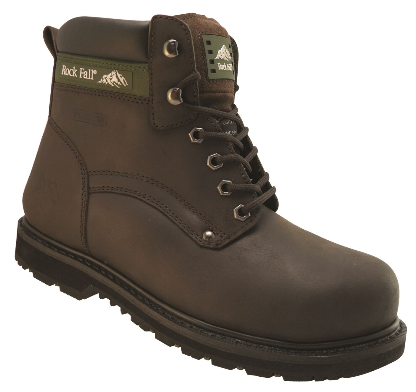 Rock Fall Quartz Brown S3 HRO Steel Toe Cap Safety Boots Work Boots Footwear PPE