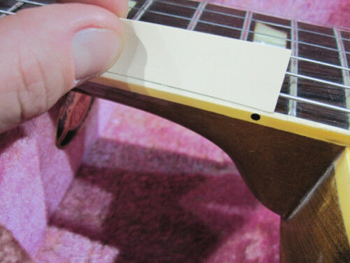 Vintage Les Paul binding 1959 original luthier Royalite