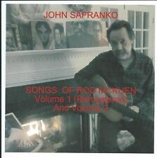 John SaFranko-Songs Of Rod McKuen Volume 1& 2 compact disc,March 2013,new