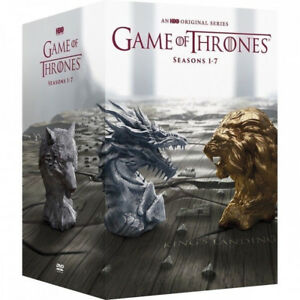 Game-of-Thrones-Seasons-One-Seven-Boxset-1-7-DVD-2017-34-Disc-FREE-SHIPPING