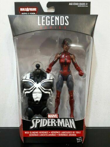 Marvel legends spider man Wave 4 Spider Girl Espace Venom BAF