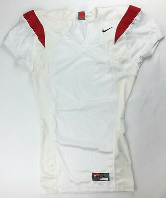 Nike Performance Ventilé Football Game Jersey Men's large rouge blanc 229475 | eBay