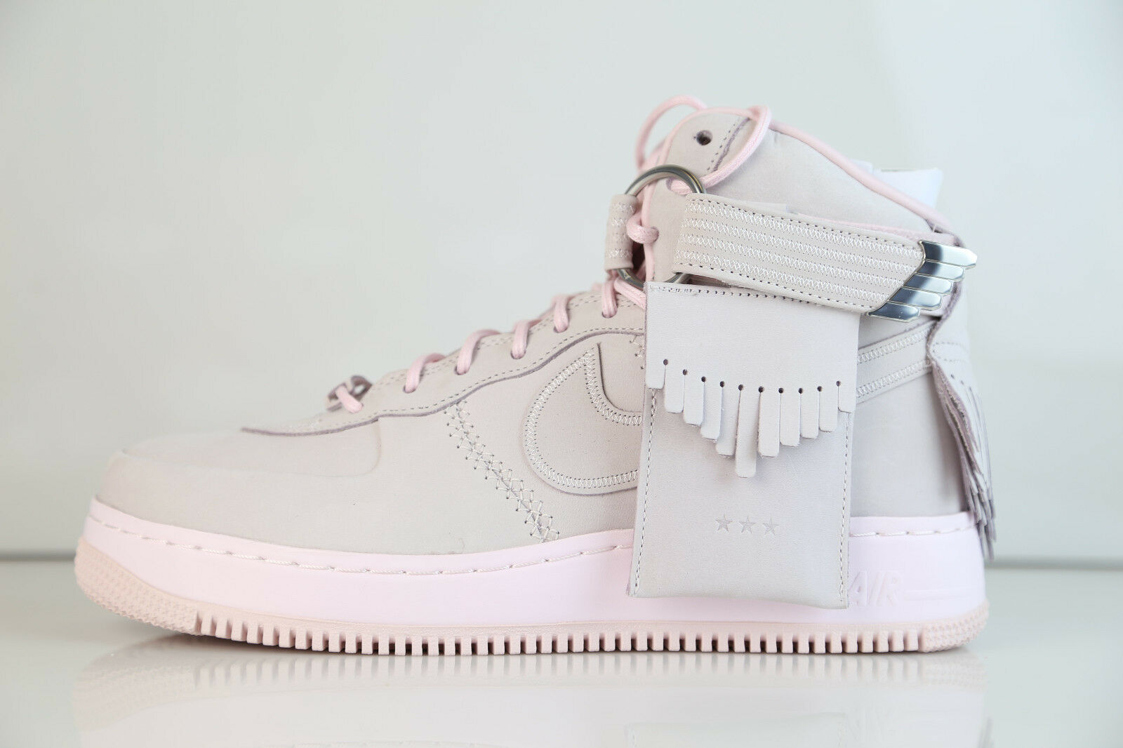 Nike Air Force 1 High SL Lux Easter Pearl Pink 919473-600 8-11 air force