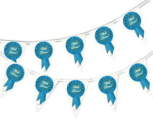 Congratulations-Well-Done-Badge-Bunting-Banner-15-flags-by-PARTY-DECOR