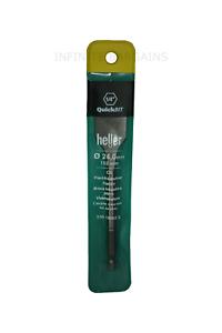 "Heller 24mm x 152mm Flat Wood Bit QuickBit 1//4/"" HEX High Quality German Tools"