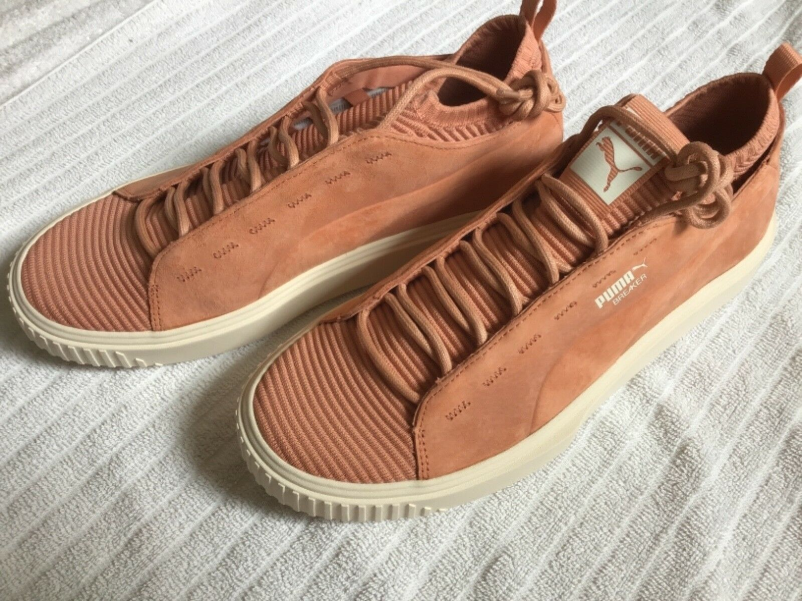 Puma breaker knit sunfaded low cut Homme  chaussures  Taille 11 muted clay