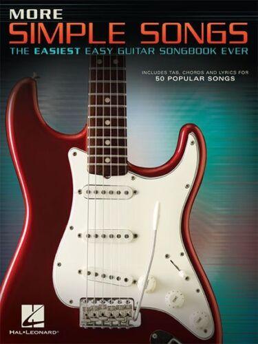 Simple Songs Easiest Easy Guitar Learn to Play TAB LYRICS CHORDS MUSIC BOOK