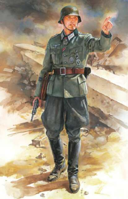 Model/_kits Tamiya 36303 1//16 WWII German Elite Infantryman Figure from Japan SB