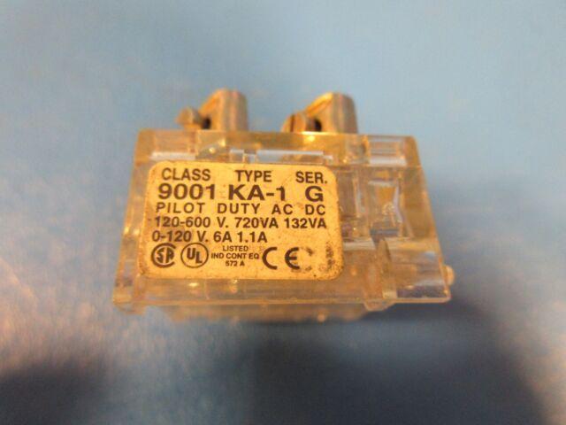 normal open Square-D Contact block 9001-KA1 NO