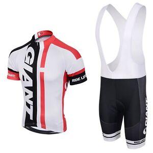 2018-Mens-Cycling-Team-Short-Sleeve-Bicycle-Jersey-Bib-Shorts-Set-Brand-New