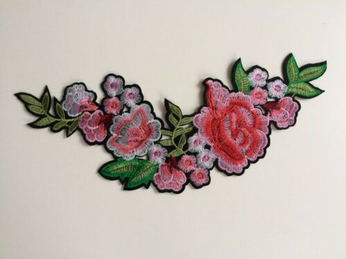 Funky Badges Fabric Iron On Patches Transfers Embroidered Applique Cloth Fashion