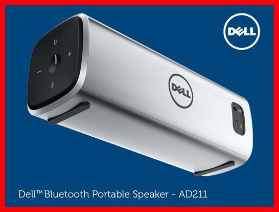 Dell Bluetooth Portable Wireless Speaker Ad8