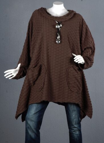 lunga Pullover Topop 56 Top Tunica Wool Pullover Camicetta Kaschierwunder 60 5qTntwfxwB