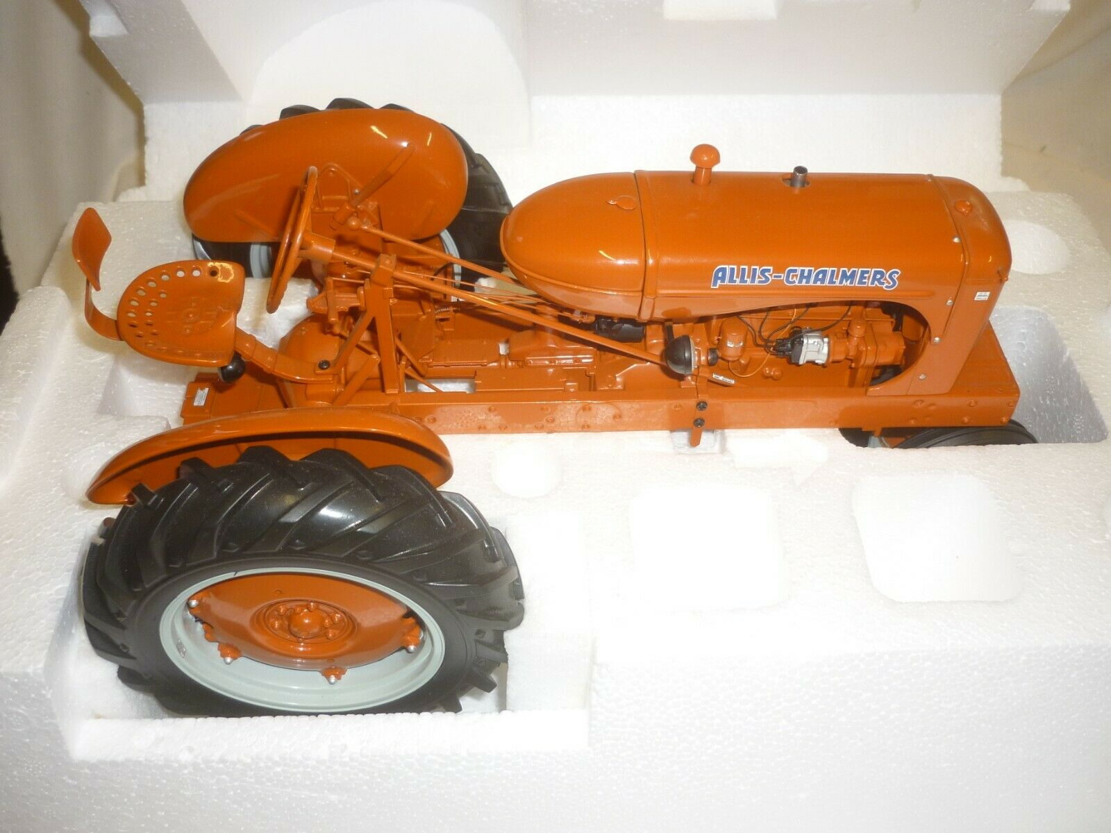 Franklin Comme neuf scale model of an ALLIS CHALMERS WC tracteur, Boxed, papiers