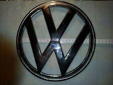 orig KARMANN GHIA Emblem Logo Schriftzug 24cm Motordeckel hinten Metall Chrom