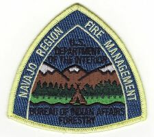 NM Navajo Region New Mexico Bureau of Indian Affairs Forestry Fire Patch *New*