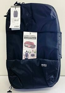 New Solo Men S All Star Hybrid Backpack Duffel Large Capacity Black 160 S1120 30918004159 Ebay