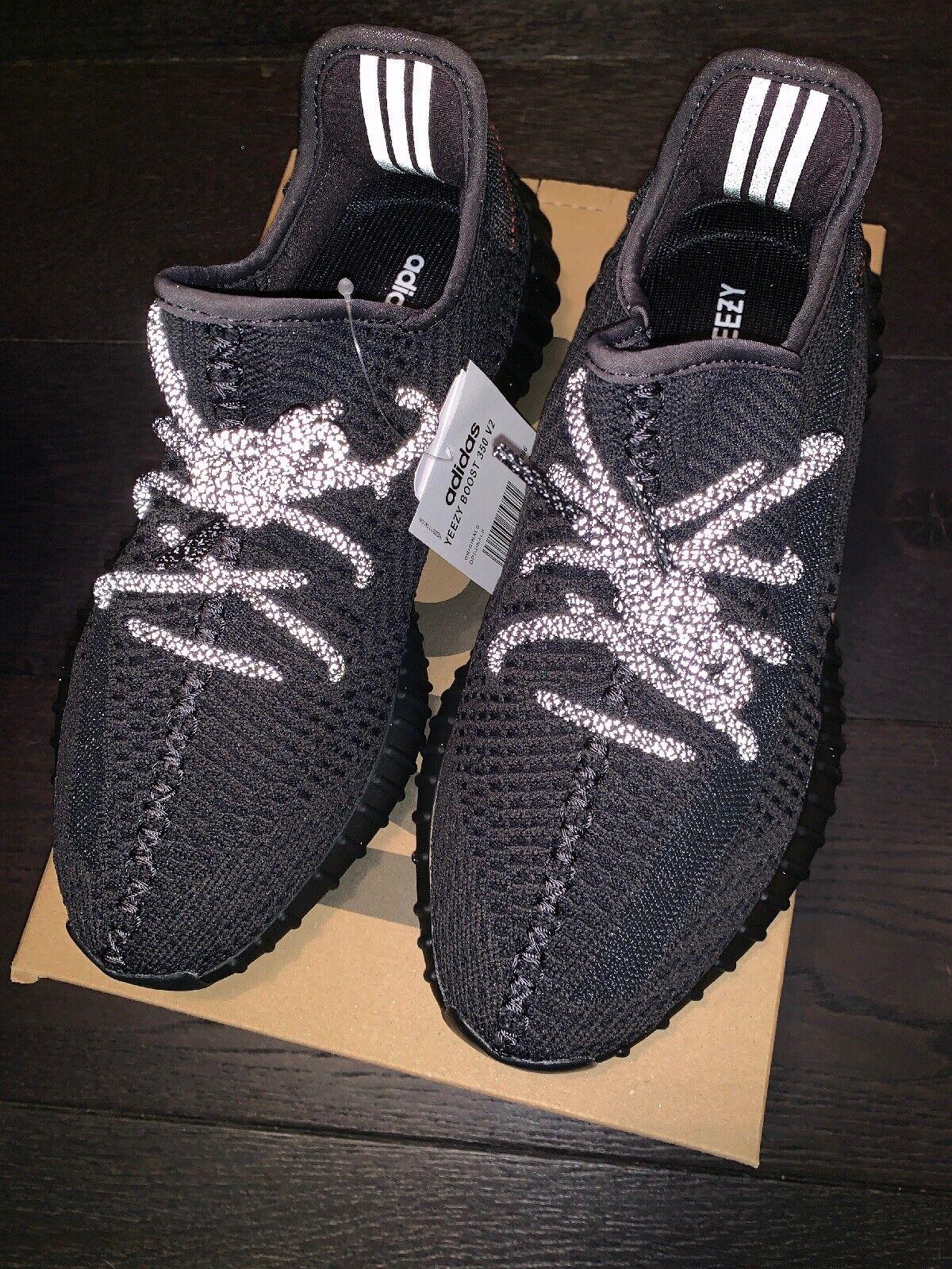 compras en linea Talla ' Estática' Negro V2 350 Boost Yeezy
