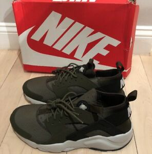 10e694eea59 Nike Air Huarache Run Ultra Sz 11 Cargo Khaki 100% Authentic 819685 ...