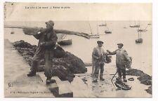 la vie à la mer  retour de pêche