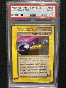 2003-Pokemon-Skyridge-Mystery-Zone-137-144-PSA-9-Mint
