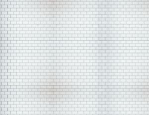 OO 00 Scale Stone Model Train Scenery Sheets –5 Seamless 8.5x11 White