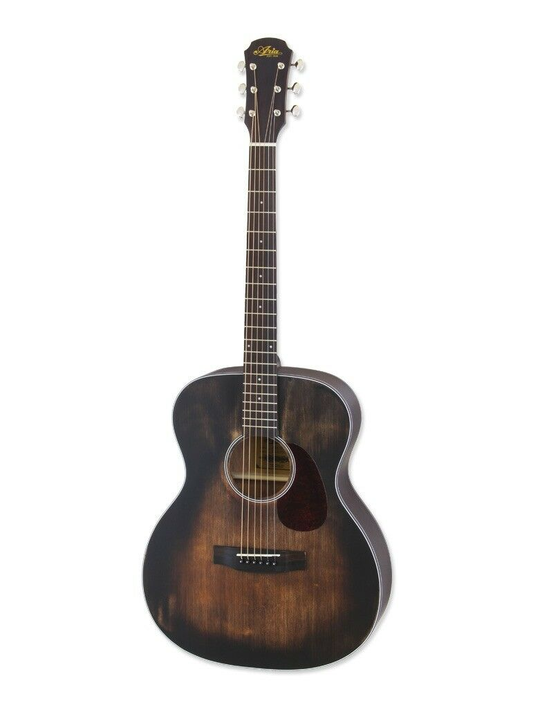 Aria Acoustic Guitar  OM  Orchestra Model Delta Player Series