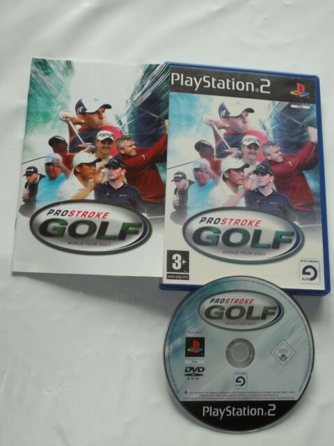 JEU PLAYSTATION 2 - PS2 - PROSTROKE GOLF - BON ETAT (AVEC SON LIVRET)