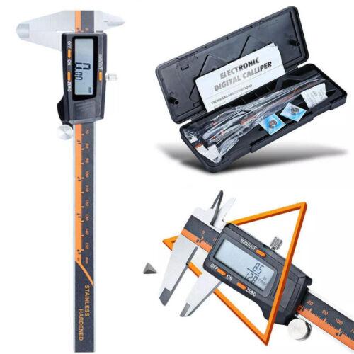 0-150mm Stainless Steel Electronic Digital LCD Vernier Caliper Gauge Micrometer
