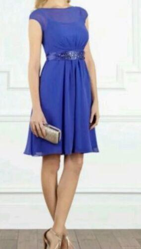 Mariage Cobalt Bnwtcoast D'honneur Croisière De De Courte Robe 18 De taille Lori Lee Bleu Demoiselle awr7FzHaq