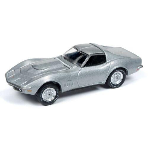 1969 Chevrolet Corvette  Cortez Silver **RR**Johnny Lightning Muscle 1:64 NEU