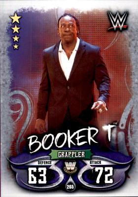 Analytisch Topps Slam Attax Live - Karte 265 - Booker T - Legends