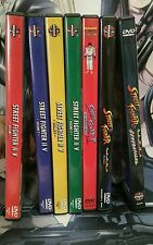 Street Fighter 2 + Alpha Rare Complete Anime DVD R1 Collection