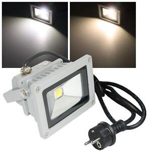 10w led fluter ip65 230volt fluchtlicht au en leuchte. Black Bedroom Furniture Sets. Home Design Ideas