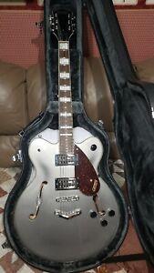 Gretsch g2622 streamliner semi hollow body electric guitar, phantom metallic