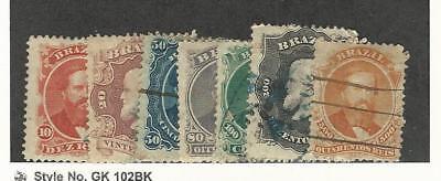 GüNstig Einkaufen Brazil, Briefmarke, #53-60 Gebraucht, 1866 100% Garantie