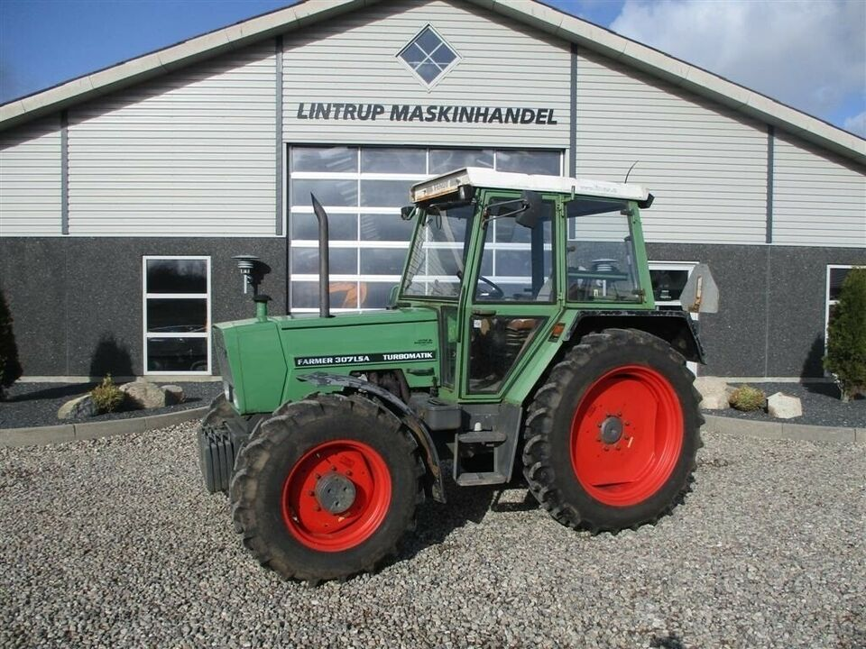 Fendt, 307 Farmer LSA Turbomatik, timer 7972