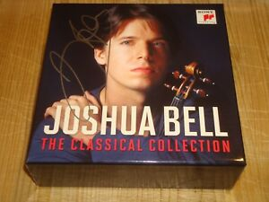 JOSHUA BELL The Classical Collection SONY CLASSICAL 14 CD BOX Signed Signiert