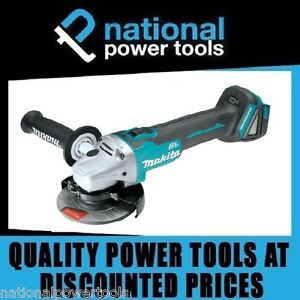 BRAND-NEW-MAKITA-BRUSHLESS-ANGLE-GRINDER-XAG03-18-VOLT-LITHIUM-ION