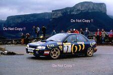 Colin McRae Subaru Impreza 555 Monte Carlo Rally 1994 Photograph
