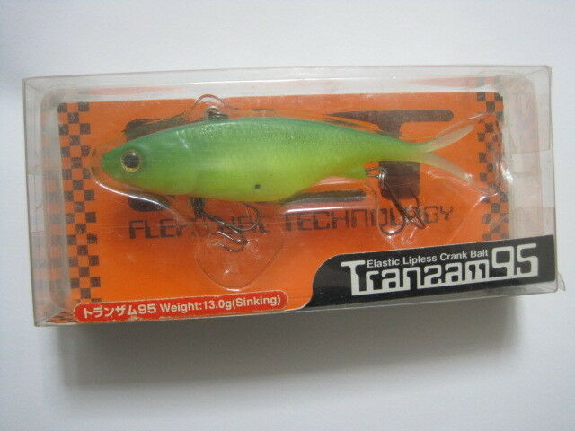 FLT TRANSAM 95 LIME CHART UIP    Floating Flex Lure Technology