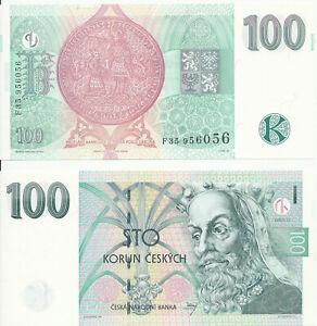 Czech-Republic-Czech-Republic-24-100-Korun-1997-UNC-Pick-18