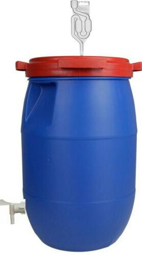 60L Gärfass  Maischefass Weinfass kompletter Gärbehälter Gärbottich Getränkefass