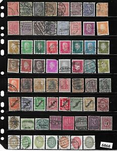 #6868   Early stamp collection /  100+ All different pre 1930 / Germania Germany