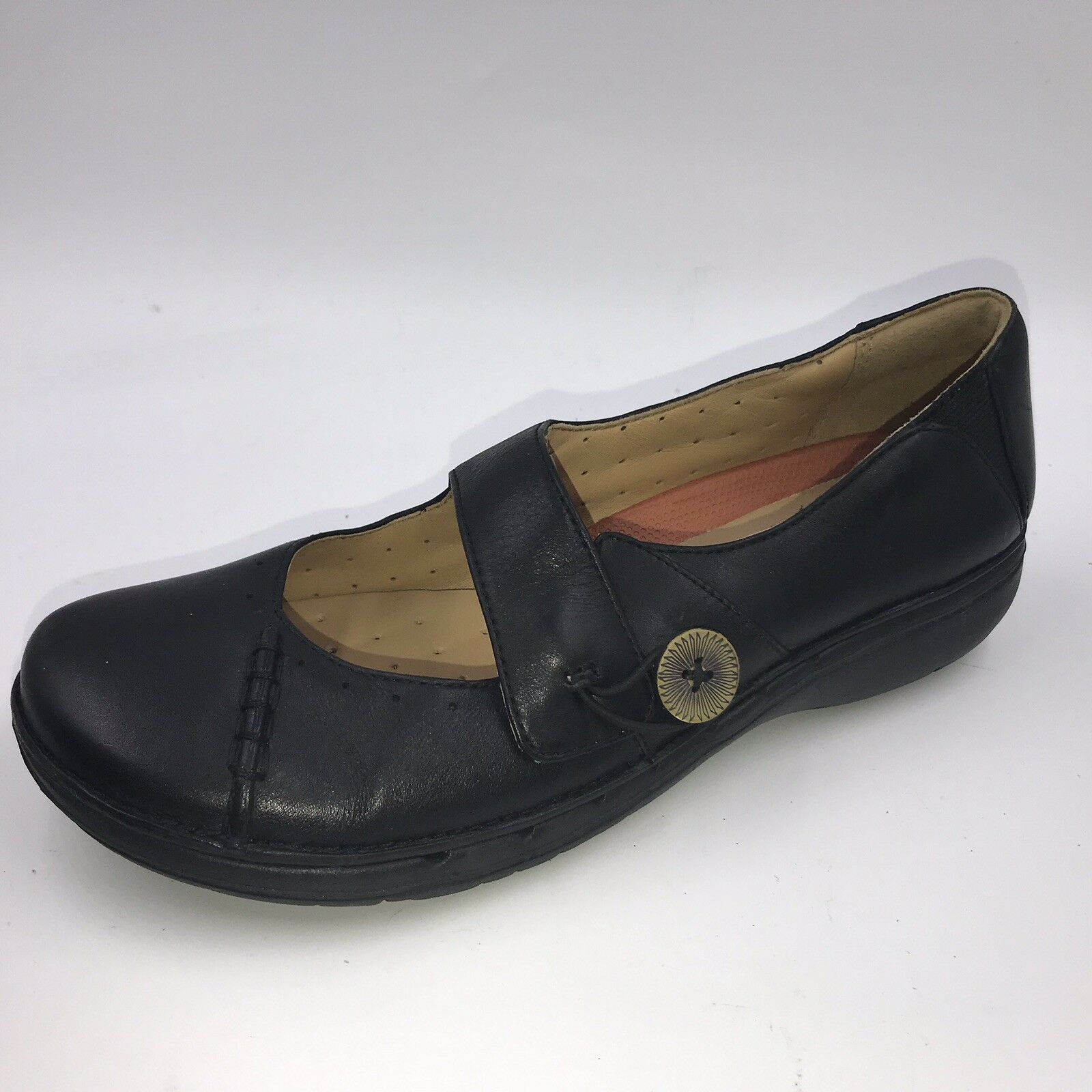 Clarks aartisan uunstructurouge SZ 4.5 37.5 noir Mary janes chaussures pour femme