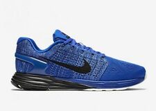 Nike Air LunarGlide 7 Flyknit Racer Blue UK 7.5 EU 42 Gym Running Support