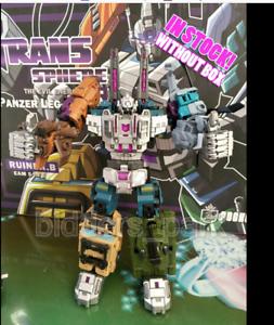Pocket toys PT-05 Transformers Bruticus Robot Legends scale 28CM action figure 8
