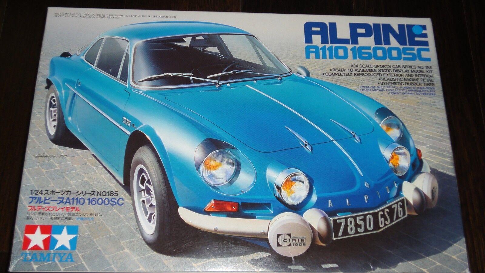 Tamiya Renault Alpine A110 1600SC 1 24