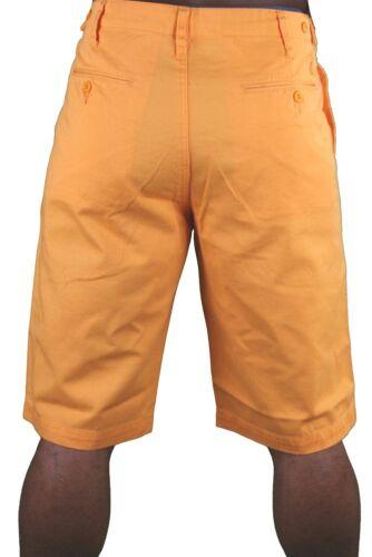 Hawke /& Dumar Tab Detail Twill Rustic Orange Walk Summer Shorts HD1250503 NWT